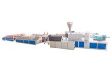 Wood-Plastic Wide Plate Production Line
