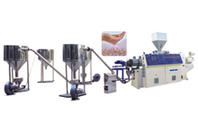 AIR COOLING HOT-FACE pelletizing line