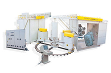Multi Arm Independent Moulding Machine